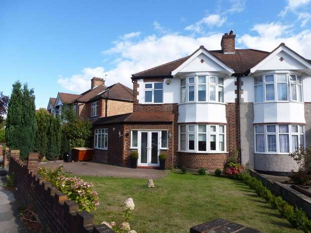4 Bedrooms Semi Detached House for sale in Northumberland Avenue, Isleworth, Middlesex