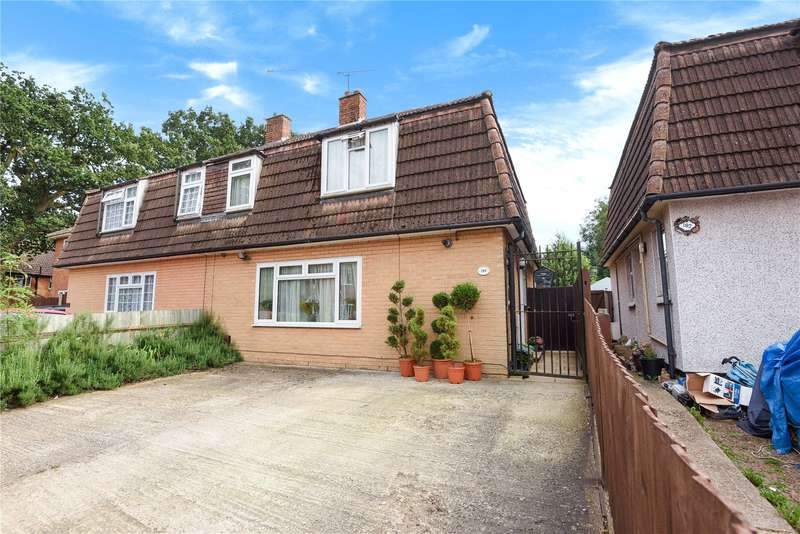 4 Bedrooms Semi Detached House for sale in Norreys Avenue, Wokingham, Berkshire, RG40