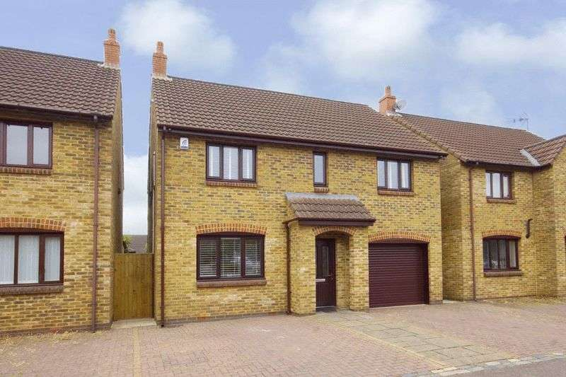4 Bedrooms Detached House for sale in 48 Lark Rise, Brimsham Park, Yate, Bristol BS37 7PJ