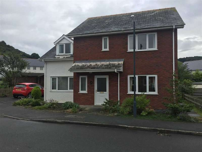 4 Bedrooms Detached House for sale in Heol Isfoel, Llanrhystud