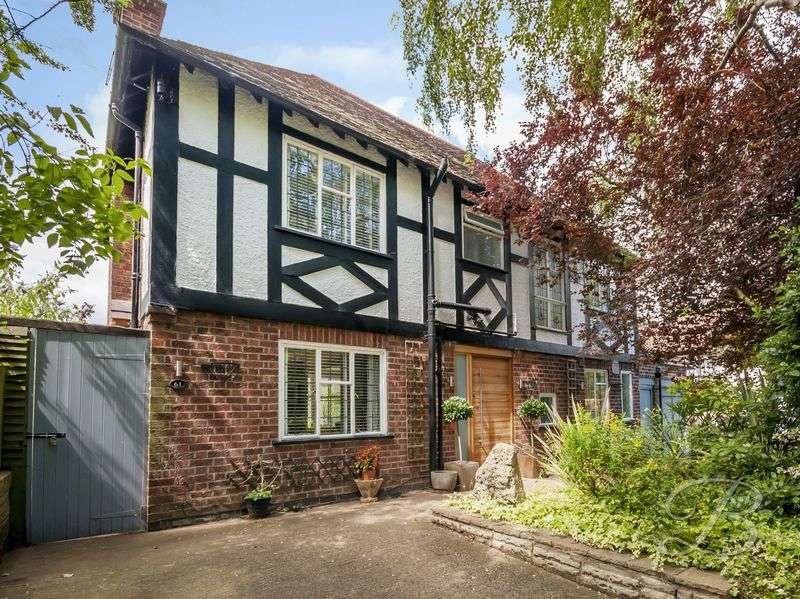 4 Bedrooms Detached House for sale in Lucknow Avenue, Mapperley Park, Nottingham
