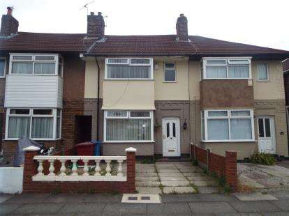 3 Bedrooms Terraced House for sale in Greystone Road, Broadgreen, Liverpool, Merseyside, L14
