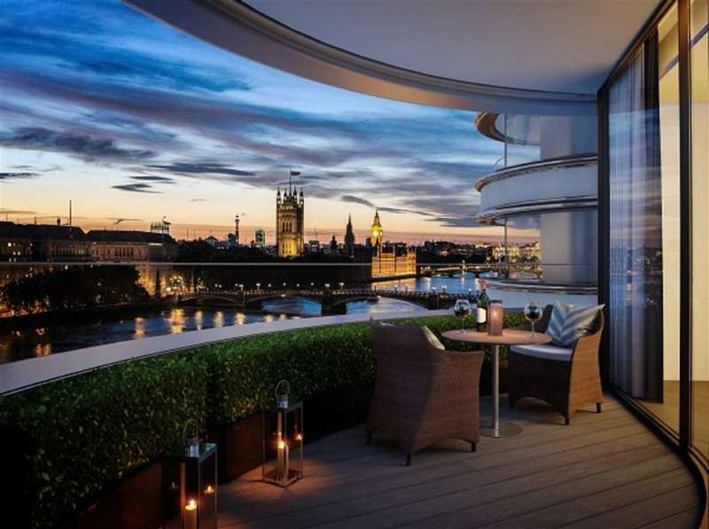3 Bedrooms Property for sale in Tower Two, Albert Embankment, London, SE1