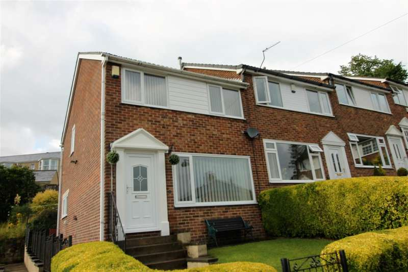 3 Bedrooms End Of Terrace House for sale in Crestfield Drive, Halifax