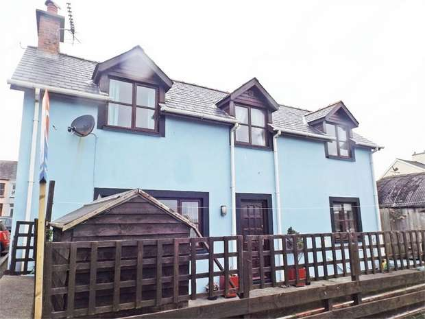 2 Bedrooms Cottage House for sale in High Street, Borth, Ceredigion