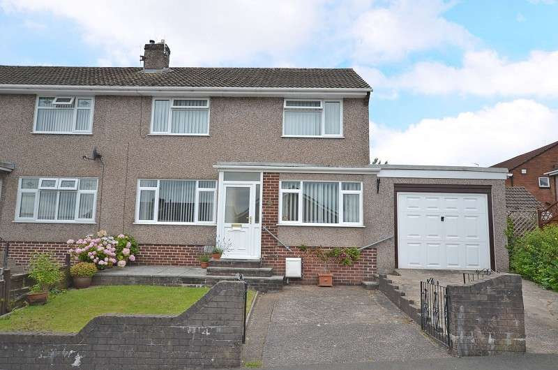 3 Bedrooms Semi Detached House for sale in Arlington Close, Newport, Gwent. NP20 6QF