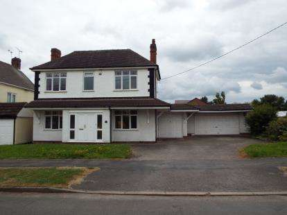 3 Bedrooms Detached House for sale in Spon Lane, Grendon, Atherstone, Warwickshire