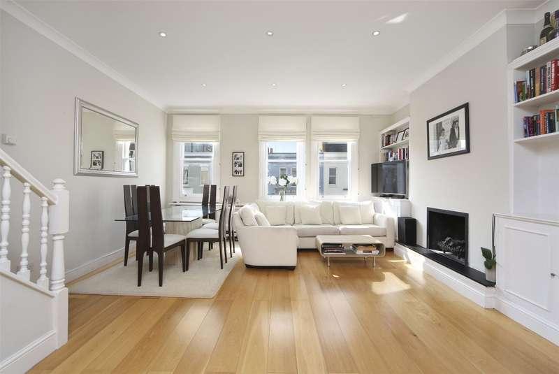 2 Bedrooms Maisonette Flat for sale in Waldemar Avenue, Parsons Green, Putney Bridge, Fulham, SW6