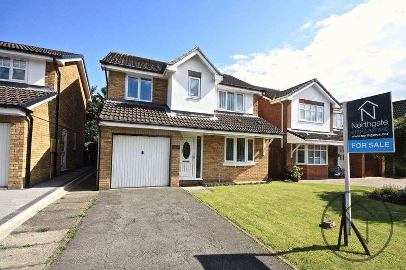 4 Bedrooms Detached House for sale in Coverdale Court, Newton Aycliffe