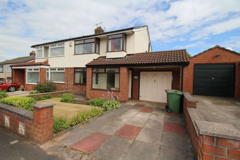 3 Bedrooms Semi Detached House for sale in Galston Avenue, Rainhill, Prescot, L35