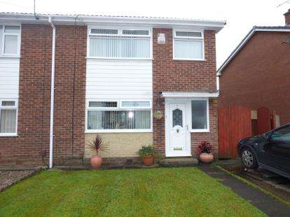 3 Bedrooms Semi Detached House for sale in Malton Close, Leigh, Greater Manchester