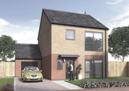3 Bedrooms Detached House for sale in The Residence, Lakeside Boulevard, Doncaster, South Yorkshire
