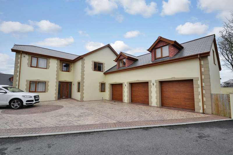 4 Bedrooms Detached House for sale in 11a The Retreat, Nottage, Porthcawl, Bridgend County Borough, CF36 3RU.
