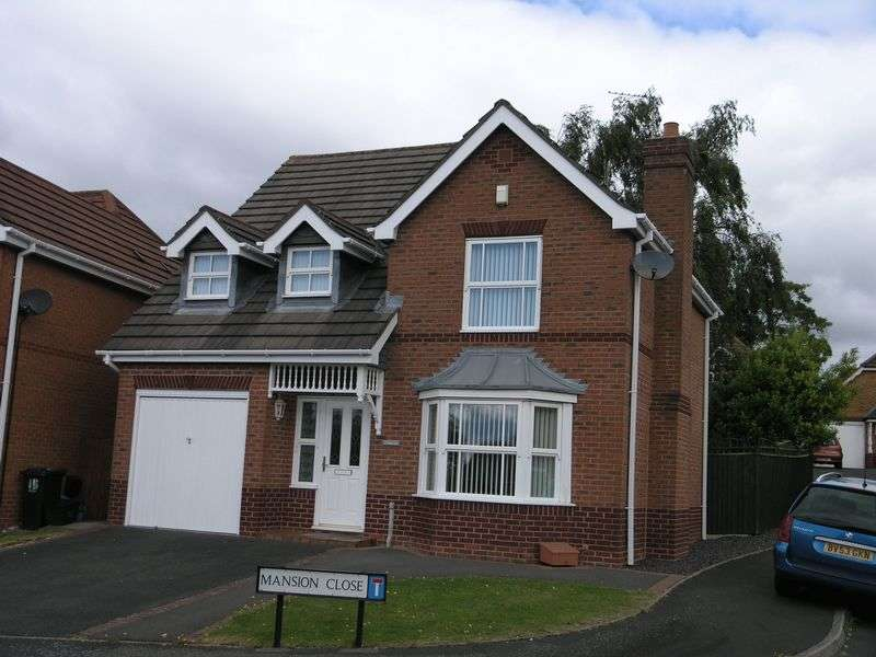 4 Bedrooms Detached House for sale in Mansion Close, Earls Keep, Dudley