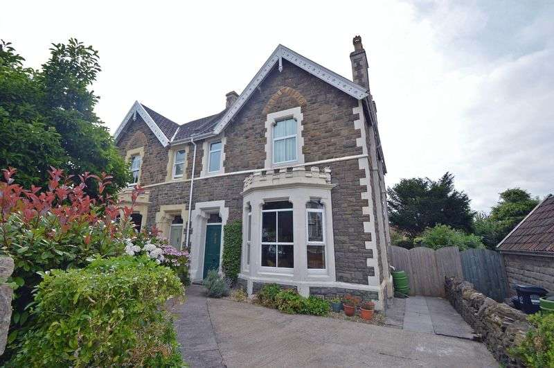4 Bedrooms Semi Detached House for sale in Madeira Road, Clevedon