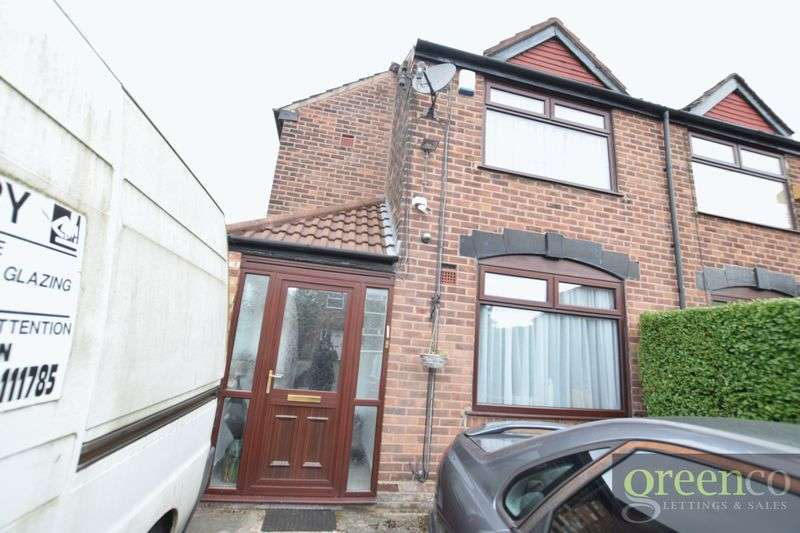 3 Bedrooms Semi Detached House for sale in Newington Avenue, Manchester