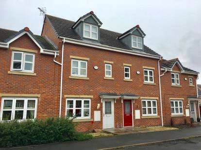 3 Bedrooms Terraced House for sale in Lavender Gardens, Warrington, Cheshire