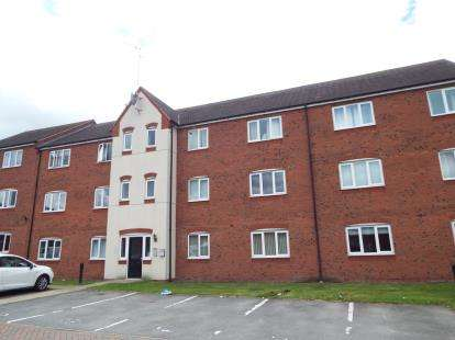 2 Bedrooms Flat for sale in Hobby Way, Cannock, Staffordshire