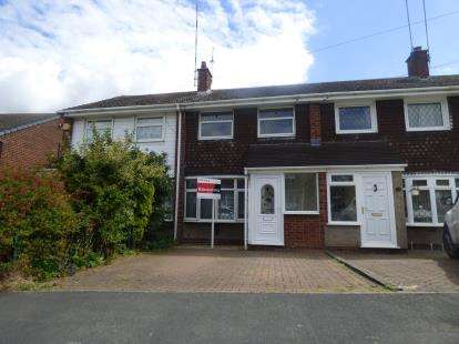 3 Bedrooms Terraced House for sale in Chetwynd Avenue, Polesworth, Tamworth, Warwickshire