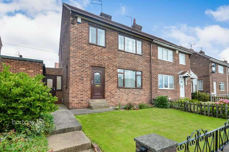 3 Bedrooms Semi Detached House for sale in Hollytree Avenue, Maltby, Rotherham