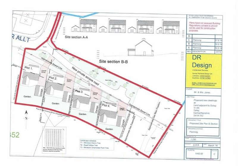 Property for sale in Golwg Yr Allt, Talley, Llandeilo