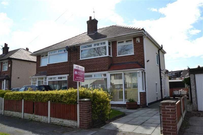3 Bedrooms Property for sale in Queensbury Avenue, Bromborough, Wirral