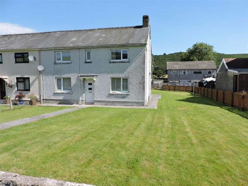 3 Bedrooms Semi Detached House for sale in Rhydybont, Llanybydder