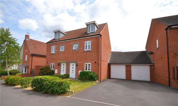 3 Bedrooms Semi Detached House for sale in Appleton Drive, Basingstoke, Hampshire