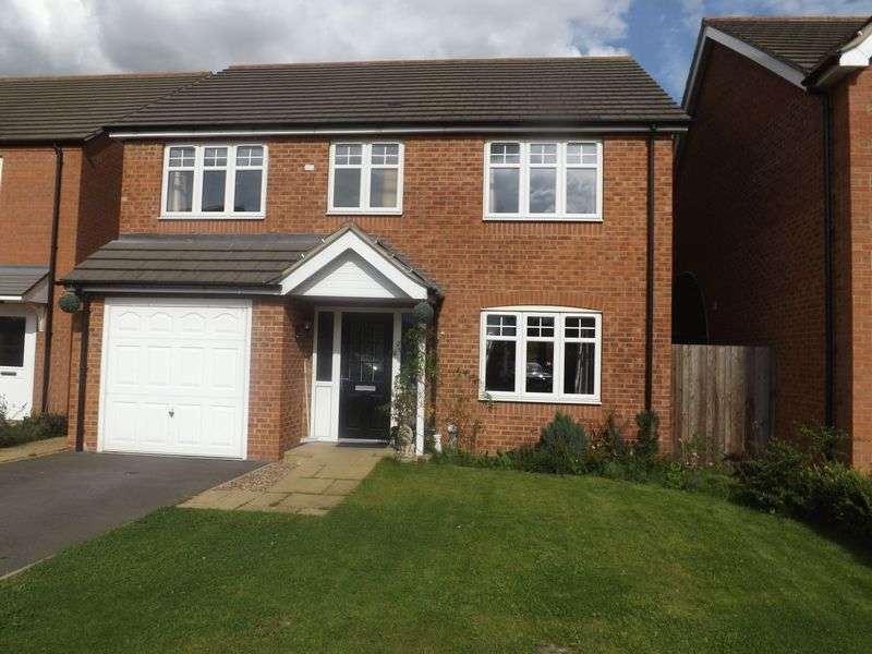 4 Bedrooms Detached House for sale in Mallard Way, MARKET RASEN