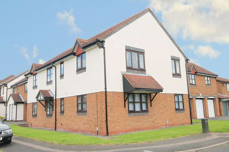 1 Bedroom Flat for sale in Furness, Abbots Gate, Tamworth B77 2QQ