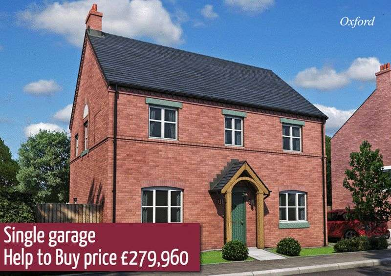 4 Bedrooms Detached House for sale in Plot 107 Off Burton Road, Tutbury