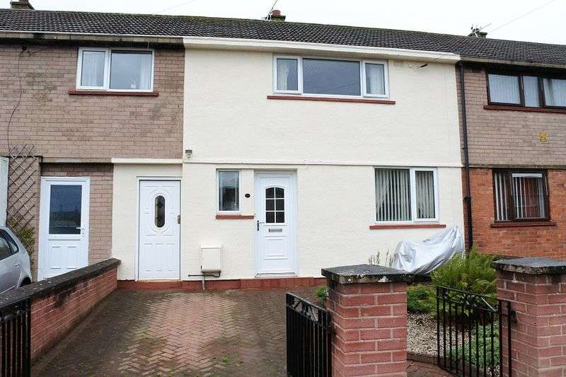 2 Bedrooms Terraced House for sale in Cresswell Avenue, Carlisle