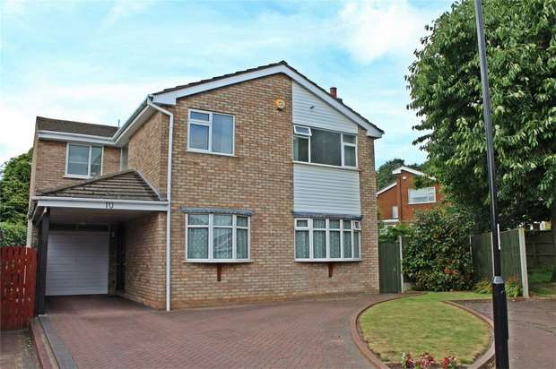 5 Bedrooms Detached House for sale in Jacklin Drive, Finham, Coventry