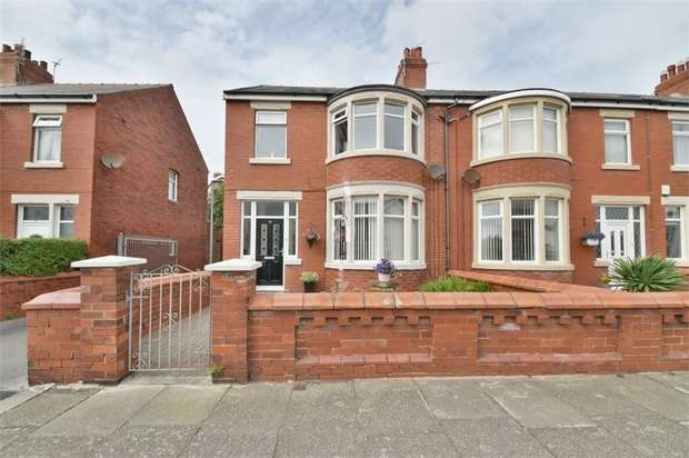 3 Bedrooms End Of Terrace House for sale in Rosebery Avenue, Blackpool, Lancashire