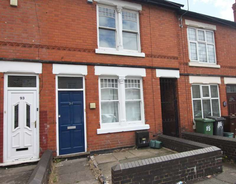 3 Bedrooms Terraced House for sale in Bright Street, Wolverhampton