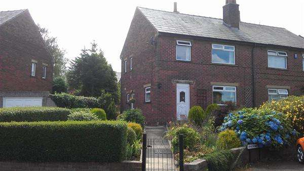 3 Bedrooms Semi Detached House for sale in Bradshaw Drive, Honley, Holmfirth