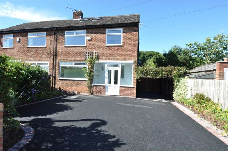 4 Bedrooms Semi Detached House for sale in Holmesway, Pensby, Wirral