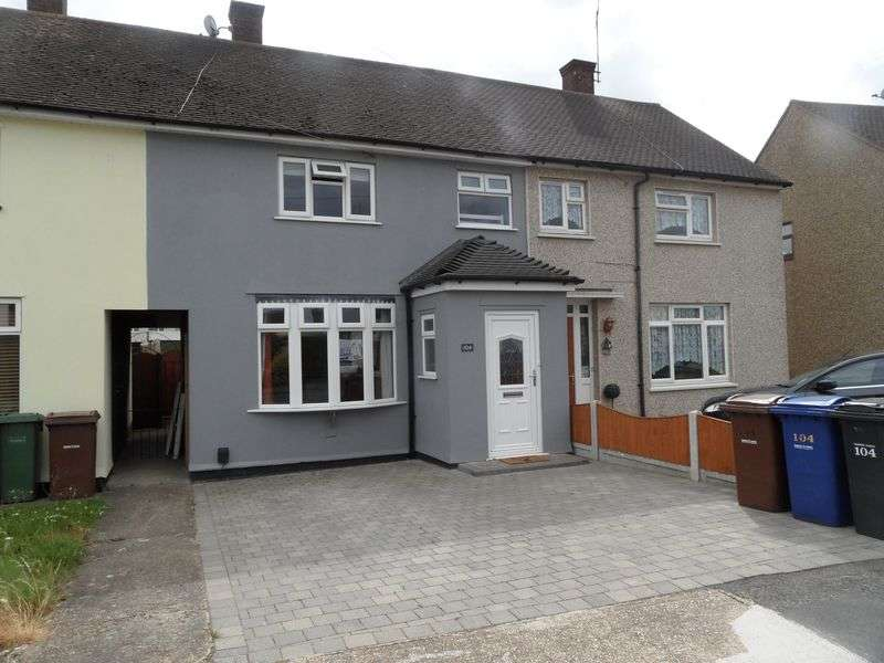 3 Bedrooms Terraced House for sale in Fullarton Crescent, South Ockendon