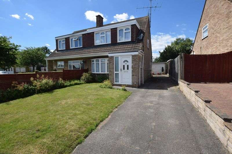 3 Bedrooms Semi Detached House for sale in Chaucer Road, Bletchley, Milton Keynes