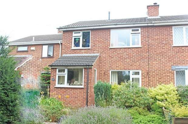 3 Bedrooms Semi Detached House for sale in Abney Walk, Measham, Swadlincote, Leicestershire