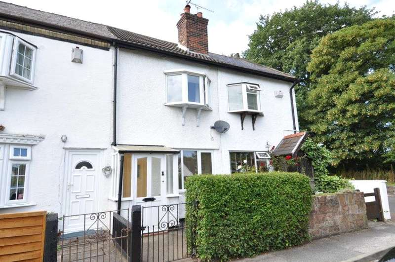2 Bedrooms Terraced House for sale in Oaklands Terrace, Heswall, Wirral