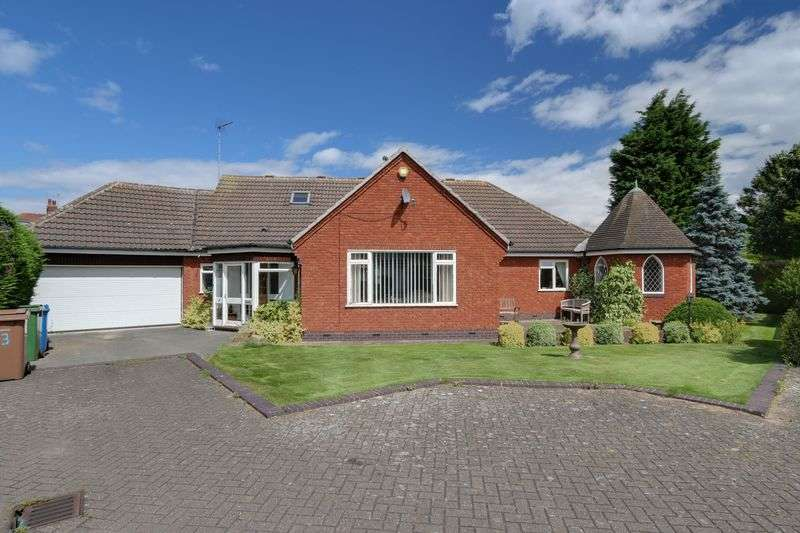 4 Bedrooms Detached Bungalow for sale in The Fir Trees, Anlaby