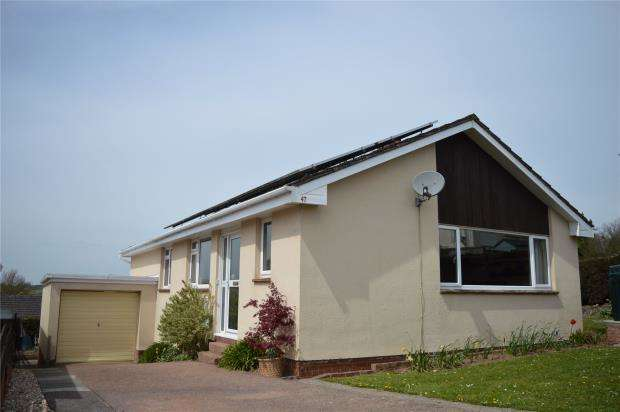 3 Bedrooms Detached Bungalow for sale in Highfield, Lapford, Crediton, Devon