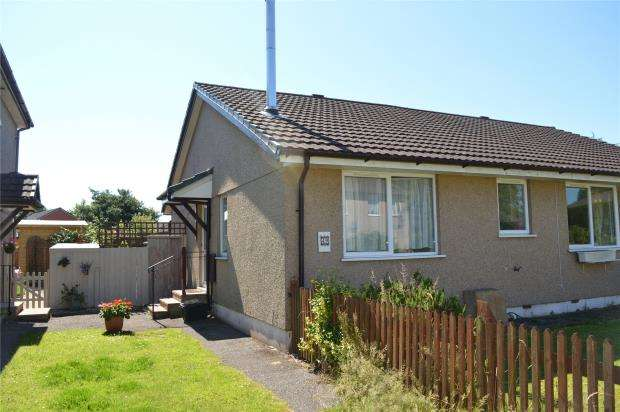 2 Bedrooms Semi Detached Bungalow for sale in Tower Way, Dunkeswell, Honiton, Devon