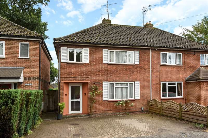 3 Bedrooms Semi Detached House for sale in Whins Drive, Camberley, Surrey, GU15
