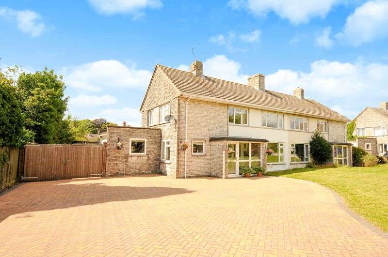 4 Bedrooms Semi Detached House for sale in Came View Close, Dorchester, DT1