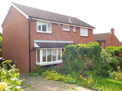 4 Bedrooms Detached House for sale in David Grove, Beeston, Nottingham, Nottinghamshire