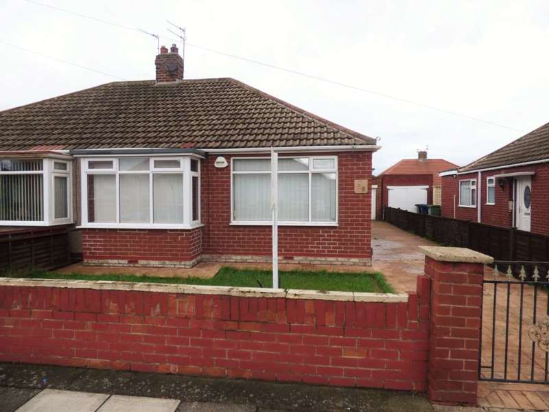 2 Bedrooms Semi Detached Bungalow for sale in Hinderwell Avenue, Dormanstown