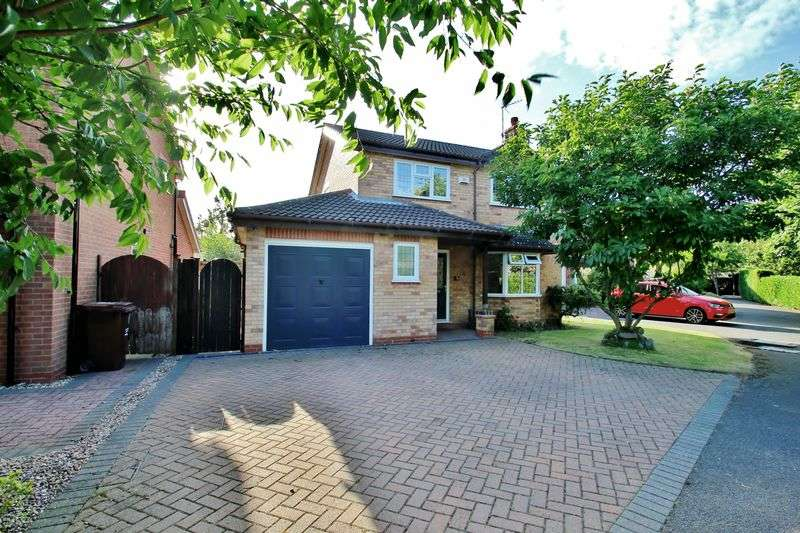 4 Bedrooms Detached House for sale in York Close, Mountsorrel, Leicestershire