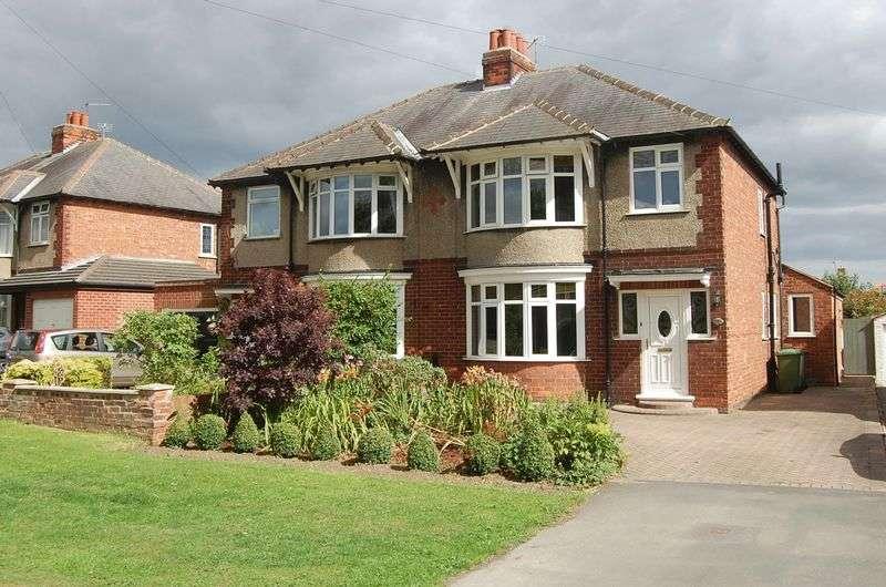 3 Bedrooms Semi Detached House for sale in Boroughbridge Road, Romanby, Northallerton